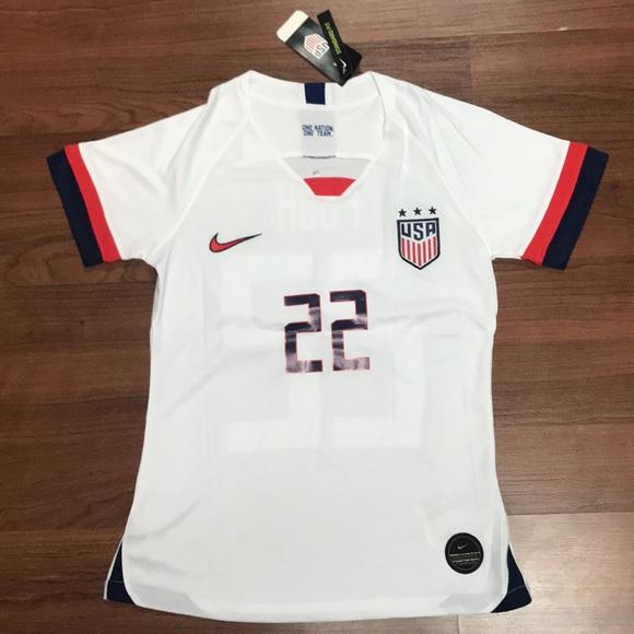 huge discount 3e394 84d1f 2019 USA Women's Soccer Jersey # 22 Mallory Pugh NWT